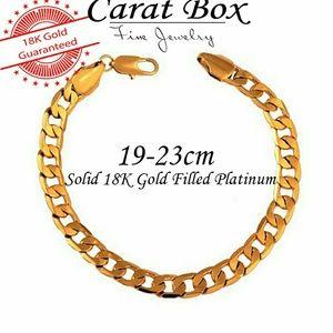 Other - Luxury 18K Gold Filled Platinum Link Bracelet