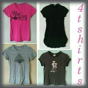 Tops - BUNDLE OF 4 Cute T-shirts, Juniors