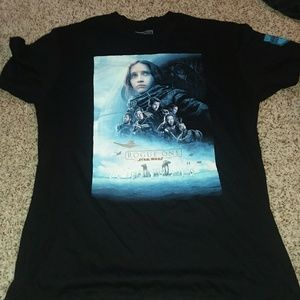 Star Wars Tops - STAR WARS T-SHIRT ROGUE ONE SIZE LARGE LIKE NEW