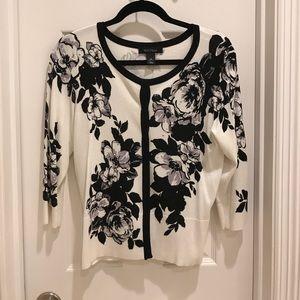 Floral Beaded cardigan