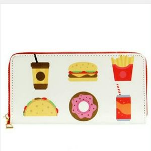 Jewely's Justifiables Handbags - Fast Food Wallet