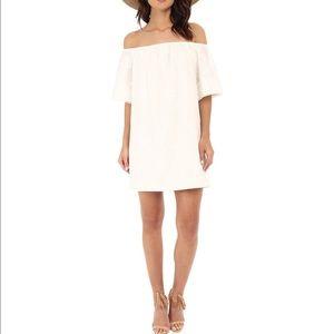 BB DAKOTA 'Manda' Off the Shoulder Cotton Dress