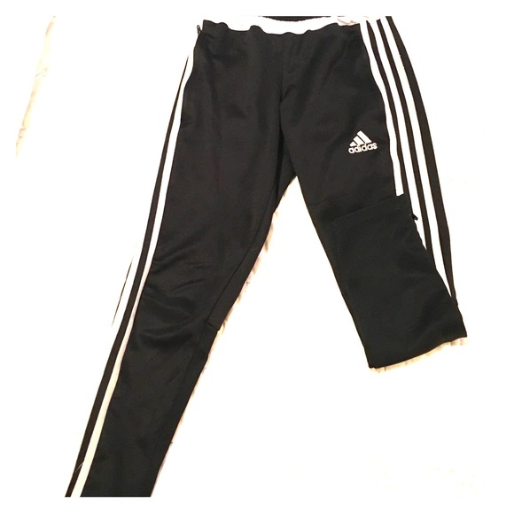 70 off adidas other adidas soccer pants skinny leg sz