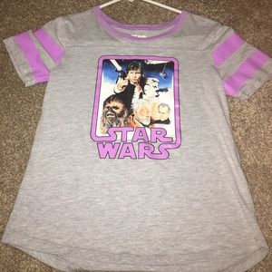 Star Wars Other - Girls Star Wars high low top size XL