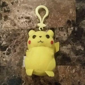 Nintendo Other - 1998 Vintage Pikachu Keychain
