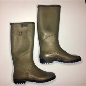 Aigle Shoes - Aigle Barn/Rain/Gardening Rubber Boots/Galoshes 8