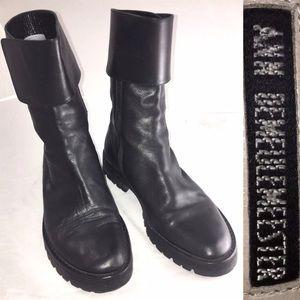 Ann Demeulemeester Shoes - Ann Demeulemeester black ankle boots