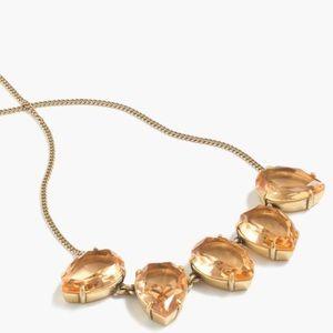 J.crew tear-drop crystal necklace
