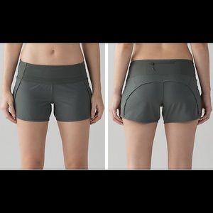 lululemon athletica Pants - Lululemon Run Times Short Dark Forest Green NWT