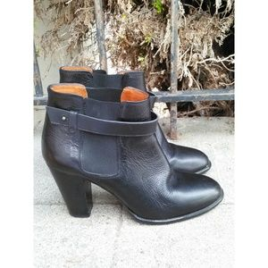 Madewell Lonny Leather  Boots