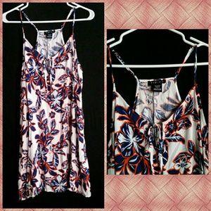 Timing Dresses & Skirts - Timing Hawaiian Beach Spaghetti Strap Dress
