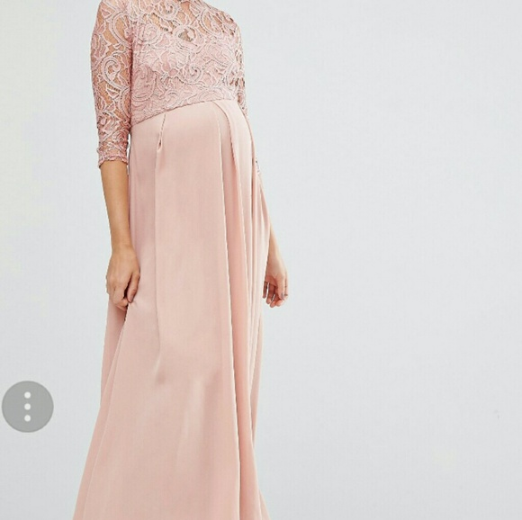 36 off asos maternity dresses  skirts  pink maternity