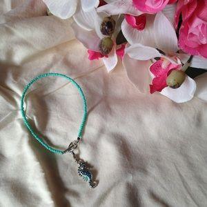 Handmade Seahorse Charm Bracelet