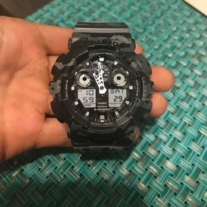 G-Shock Accessories - Camo G-Shock new!