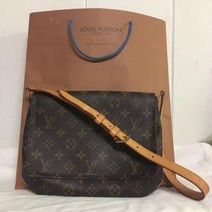 Louis Vuitton Musette Tango Monogram Shoulder Bag