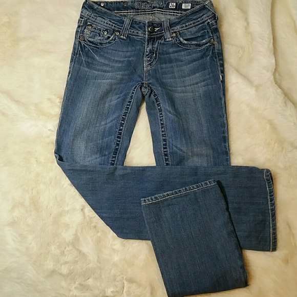 68 off miss me denim miss me bootcut bling lace cross