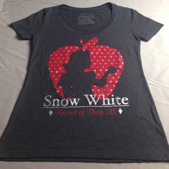 23880d9c DISNEY STORE Tops   Rare Snow White Fairest Of Them All Top ...