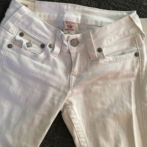 True Religion Denim - Super cute white true religion jeans