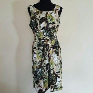 Emma & Michele Dresses & Skirts - Emma & Michele Floral Sheath Dress Size 14
