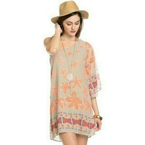 Boho-inspired dress!
