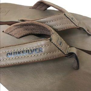 Quiksilver Other - Quicksilver Men's Flip Flops Size 12