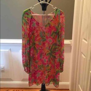 Lilly Pulitzer Dresses & Skirts - Lilly Pulitzer Carleigh Lulu print 4 no flaws!!
