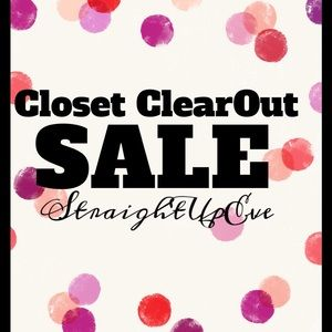 StraightUpEve's Annual Closet CLEAROUT Sale