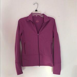 Zella Zip athletic hoodie Sweatshirt Purple XS