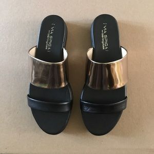 Via Spiga Carita Leather slide