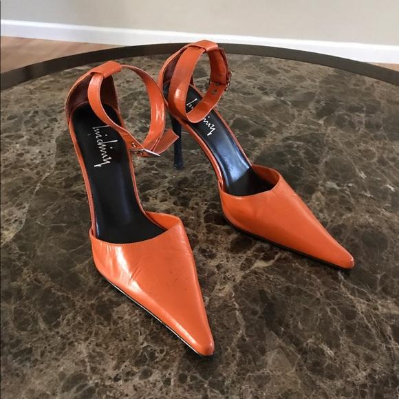 Lui Chiuy Orange Heels