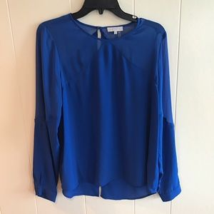 1. State Tops - 1. State long sleeve cobalt top