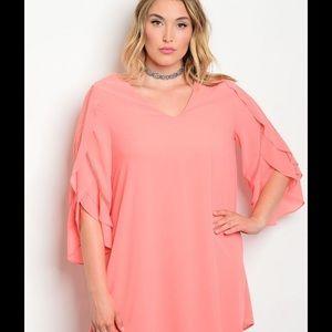 Dresses & Skirts - Sheath Dress Plus Size