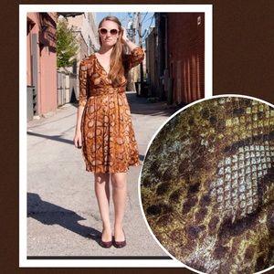 NWT Altuzarra  Target Python Snakeskin Dress 14