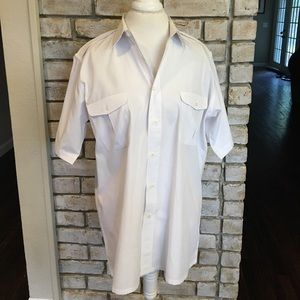 Men's Dior White Button Down