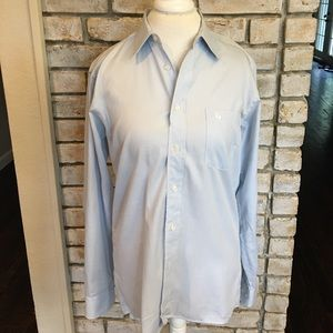 Men's Light Blue Dior Button Down