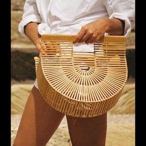 Reformation Handbags - Bamboo style rattan bag