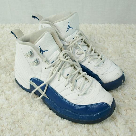 the best attitude a574e 18b3e Jordan Other - Youth Nike Air Jordan 12 Retro French Blue Size 6Y