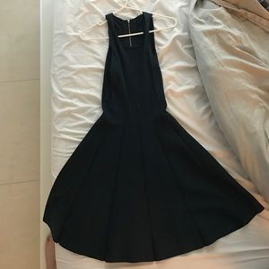 Parker navy bandage dress