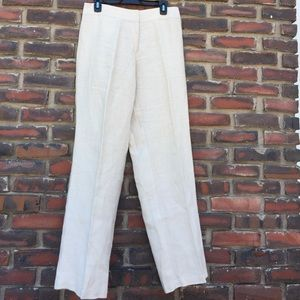 Eileen Fisher Irish Linen Pants S