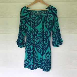 boutique Tops - Ruffle sleeve tunic