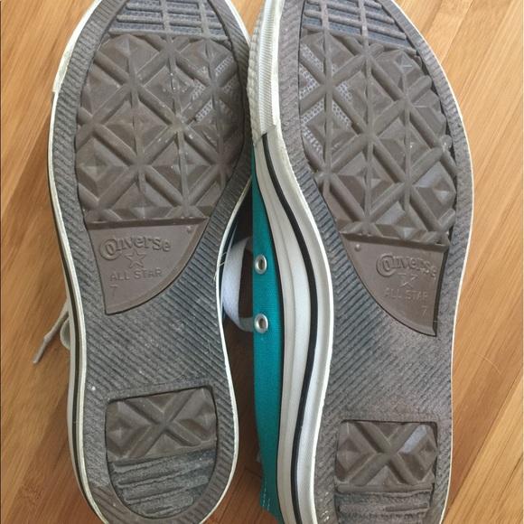 50 converse shoes teal converse canvas lace up