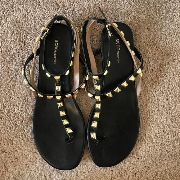 9a56176c004 BCBGeneration Shoes - BCBG Glorina Studded Gladiator Sandals