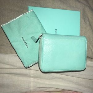 Tiffany & Co. Accessories - Authentic Tiffany zip around wallet