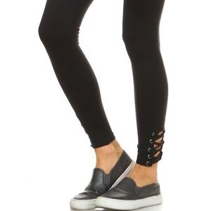 Mono B Pants - ❤❤❤ NWT Leggings with cross cross ankle by Mono B