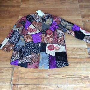 Jackets & Blazers - INDIGO MOON 2x QVC quilted jacket beautiful