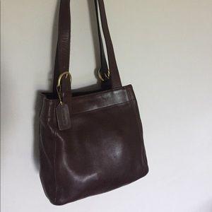 Coach Handbags - Authentic {Coach} Brown Shoulder Bag.