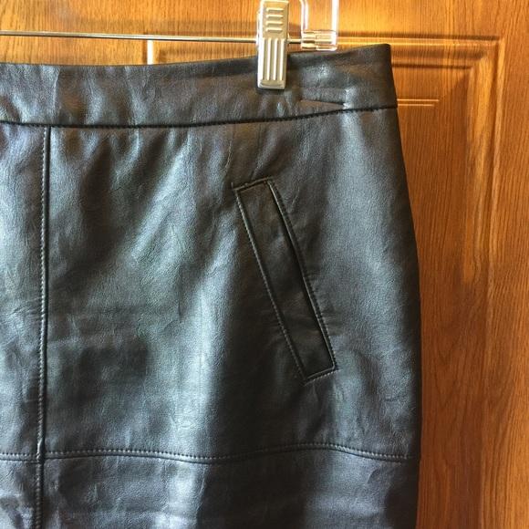 52 cabi dresses skirts cabi vegan black leather