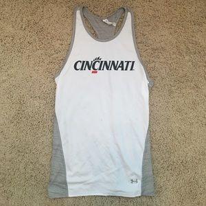 University of Cincinnati Under Armour Tank