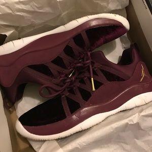 92ac3b61f0f Nike Shoes | Jordan Deca Fly Burgundy Velvet Kicks 7y | Poshmark