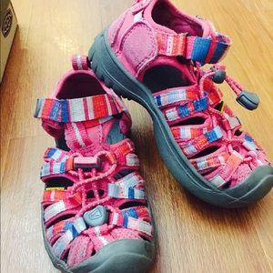 Keen Other - KEEN water trek sandal shoe toddler girl 10 EEUC